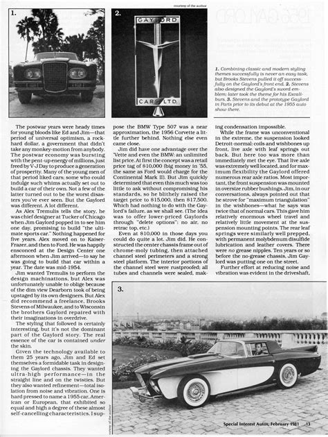 Gaylord Gladiator Sports Touring (1956) - Old Concept Cars