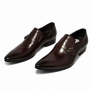 Chaussure De Ville Garcon : chaussures de ville brides fermeture sangle en cuir homme ~ Dallasstarsshop.com Idées de Décoration