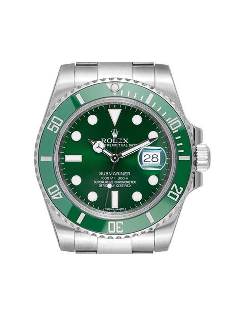 Rolex Submariner Date Stainless Steel Green Dial