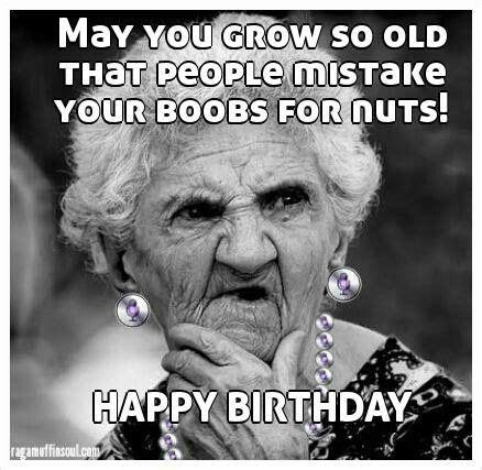 Funny Old Lady Memes - 20 funny happy birthday memes sayingimages com