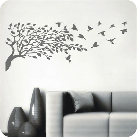 Abstandshalter Sofa Wand by Wandtattoo Baum Mit V 246 Geln Wandtattoo Blumen Pflanzen