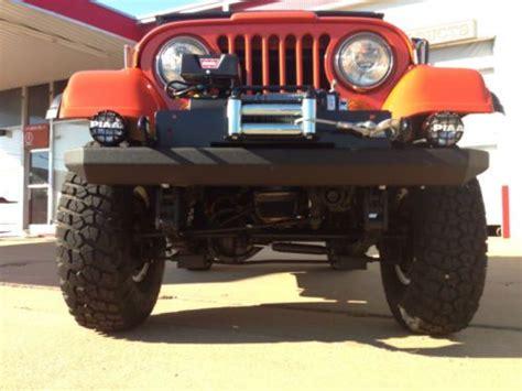 sell   jeep cj renegade amc    paint