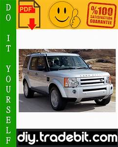 Land Rover Discovery 3 Lr3 Service Repair Manual Download