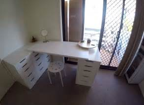 Diy Vanity Table Ikea by Diy Home Improvements Small Bedroom Organisation Makeup