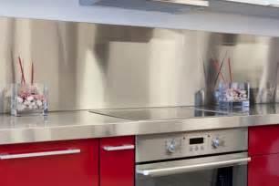 inspiration  kitchens  stainless steel backsplashes