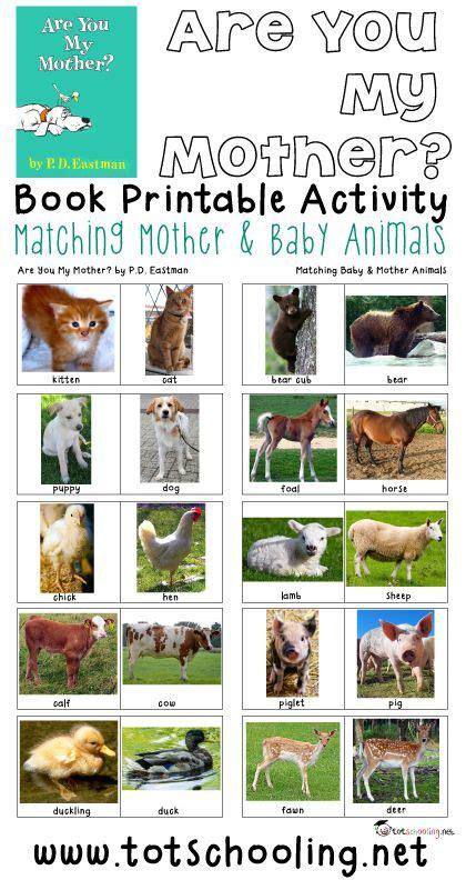 free amp baby animals matching activity free 451 | 75b11dec53592dc6be62e0197cb2dd54