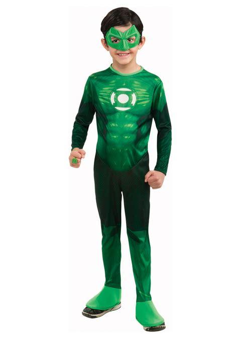 deluxe green lantern costume