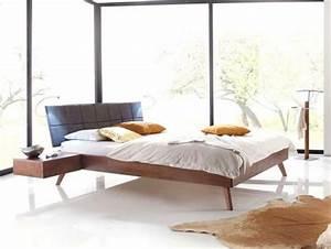 Lit Double Bois : lit bois massif lits et cadres de lit cadre de lit bois ~ Premium-room.com Idées de Décoration