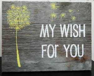 Hand Painted Rustic Wood Sign