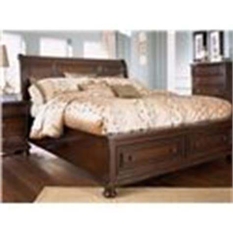 ashley furniture porter king sleigh bed with storage