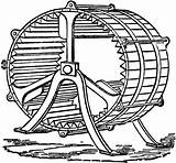 Wheel Water Drawing Mill Clipart Clipartmag sketch template