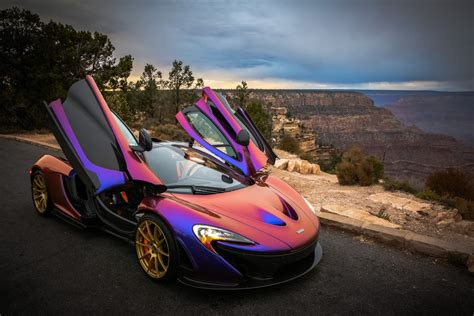 mclaren p1 purple l a angels pitcher c j wilson takes his purple mclaren