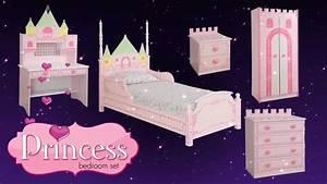 Princess Castle Theme Bed/Bedroom Furniture for Kids ...