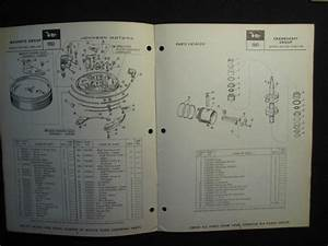 Sell 1963 Johnson Outboard Motor 10 Hp Parts Catalog