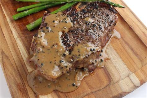 steak au poivre steak au poivre recipes dishmaps