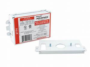 Philips Advance Electronic Dimming Ballast 277v For  2