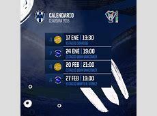 El camino de Rayados en Copa MX Clausura 2018 Sitio
