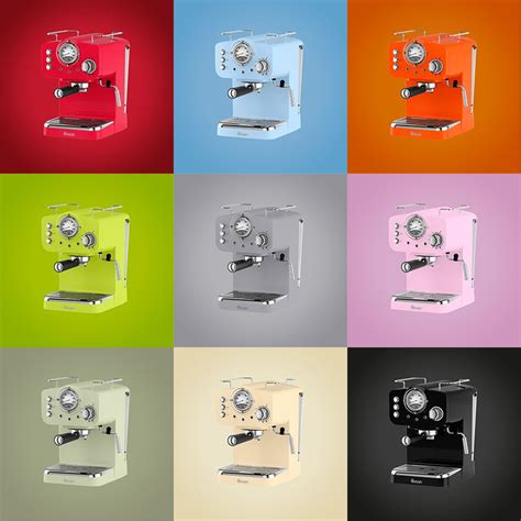 With ella & co, i've found a way to do both. Retro Espresso Coffee Machine - It's bright, powerful and ready to brew