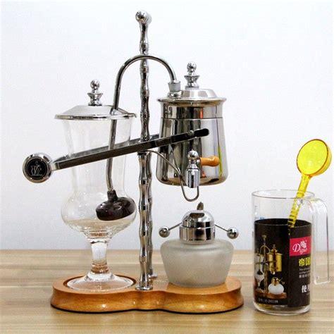 Luxury royal family balance syphon coffee maker: Royal balancing siphon coffee maker/belgium coffee maker,syphon coffee maker | Syphon coffee ...