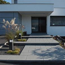 Moderne Vorgärten Mit Treppeber 1000 Ideen Zu Einfahrt
