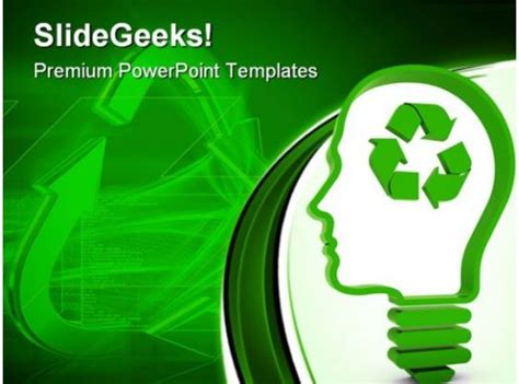 recycling nature powerpoint templates