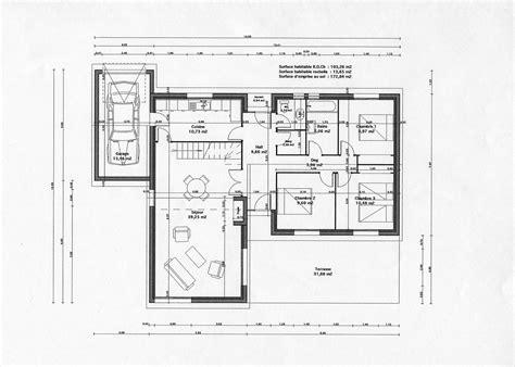 plan de cuisine gratuit pdf plan maison gratuit surface