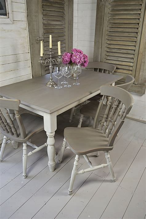 shabby chic table and chairs enchanting shabby chic dining table and chairs grey and