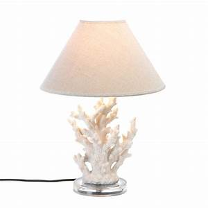 White coral table lamp wholesale at koehler home decor for Table lamp bases wholesale