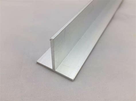 aluminium t profile section lenght 500 mm 2000 mm free cut service ebay