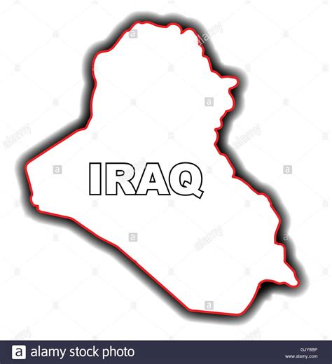 Iraq Map Stock Photos And Iraq Map Stock Images Alamy