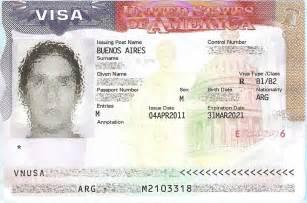U.S. Visa Number