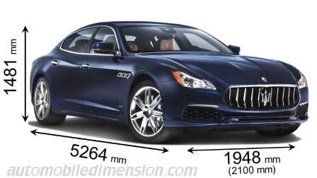 Maserati Ghibli Dimensions by Maserati Quattroporte Dimensions Car Tech