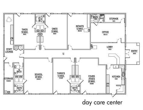 preschool floor plan layout day care center layout crafting ideas 323