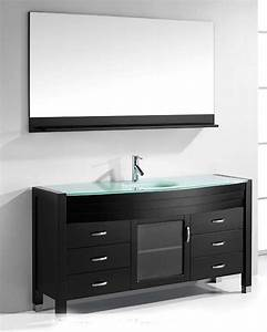 ava 61in single bathroom set in espresso by virtu usa vu With ava bathroom furniture