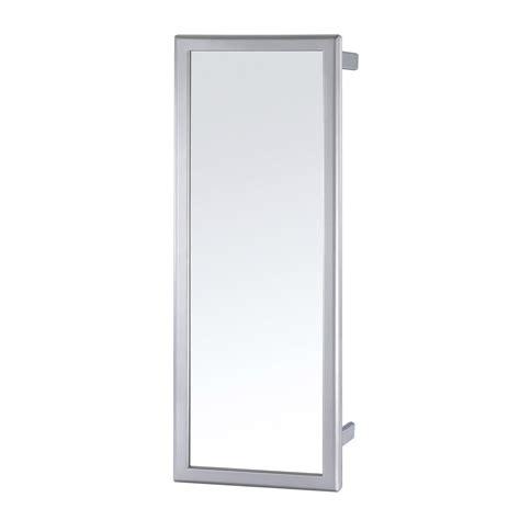rangement pivotant cuisine miroir coulissant pivotant gris h 80 x l 5 x p 30 cm