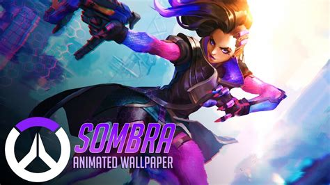 Overwatch Wallpaper Animated - sombra animated wallpaper overwatch