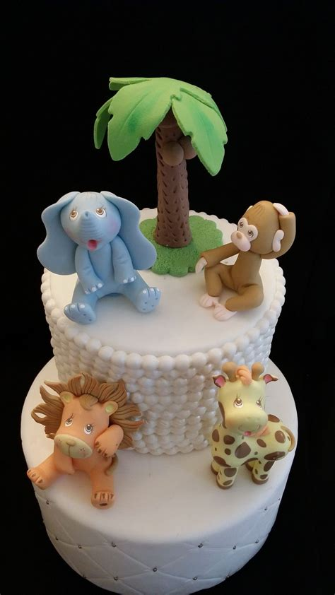 cute baby animals cake toppers jungle party baby animals