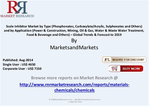 global scale inhibitor market  type application