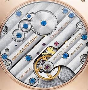 Baume  U0026 Mercier Clifton Manual 1830 Watch