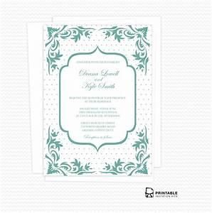 boho dots wedding invitation pdf wedding invitation With wedding invitation online pdf