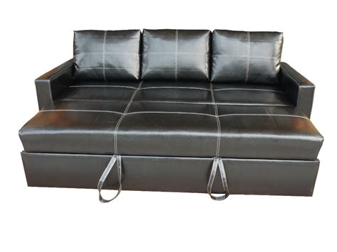 Leather Modern Pullout Sofa Bed  Buy Pullout Sofa Bed
