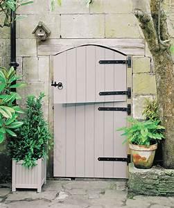 Peinture Sur Bois Exterieur : peinture bois ext rieur sur porte de jardin protect 39 bois astral ~ Melissatoandfro.com Idées de Décoration
