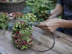 Herbstgestecke Für Draußen : wir binden einen herbstkranz die mischung macht 39 s ~ Michelbontemps.com Haus und Dekorationen