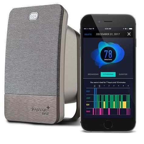 SleepScore Max Sleep Improvement Monitor   west elm