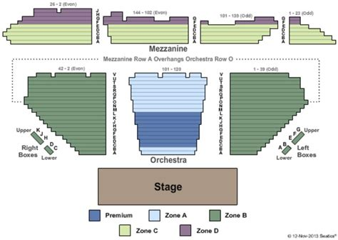 winter garden theatre    york seating charts