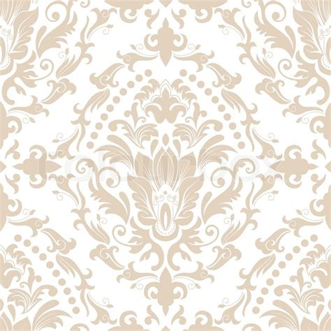 vector damask seamless pattern element elegant luxury
