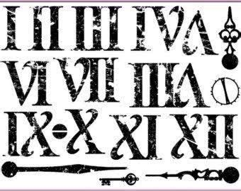 roman numeral font google search roman numeral