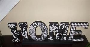 jess and boo home is where the heart is With white wood letters michaels