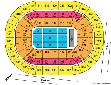 scottrade center seating chart    schedule