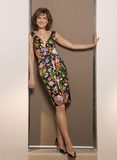 I don't like what I see in the mirror, says Fiona Bruce ...